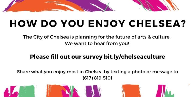 We want to hear from you as to future Arts and Culture Planning in Chelsea! Please fill out our survey at bit.ly/chelseaculture.