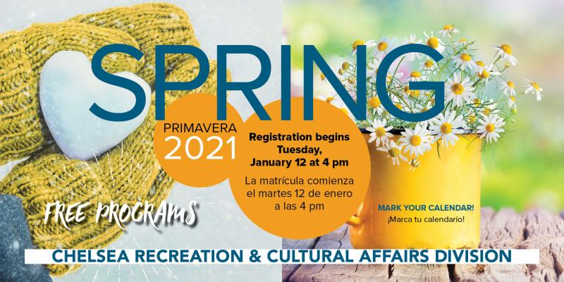 Spring Program is available!