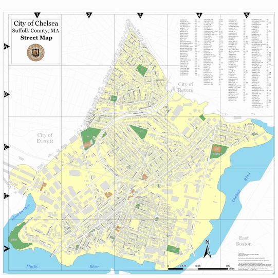 City Of Boston Excise Tax >> Maps | City of Chelsea MA