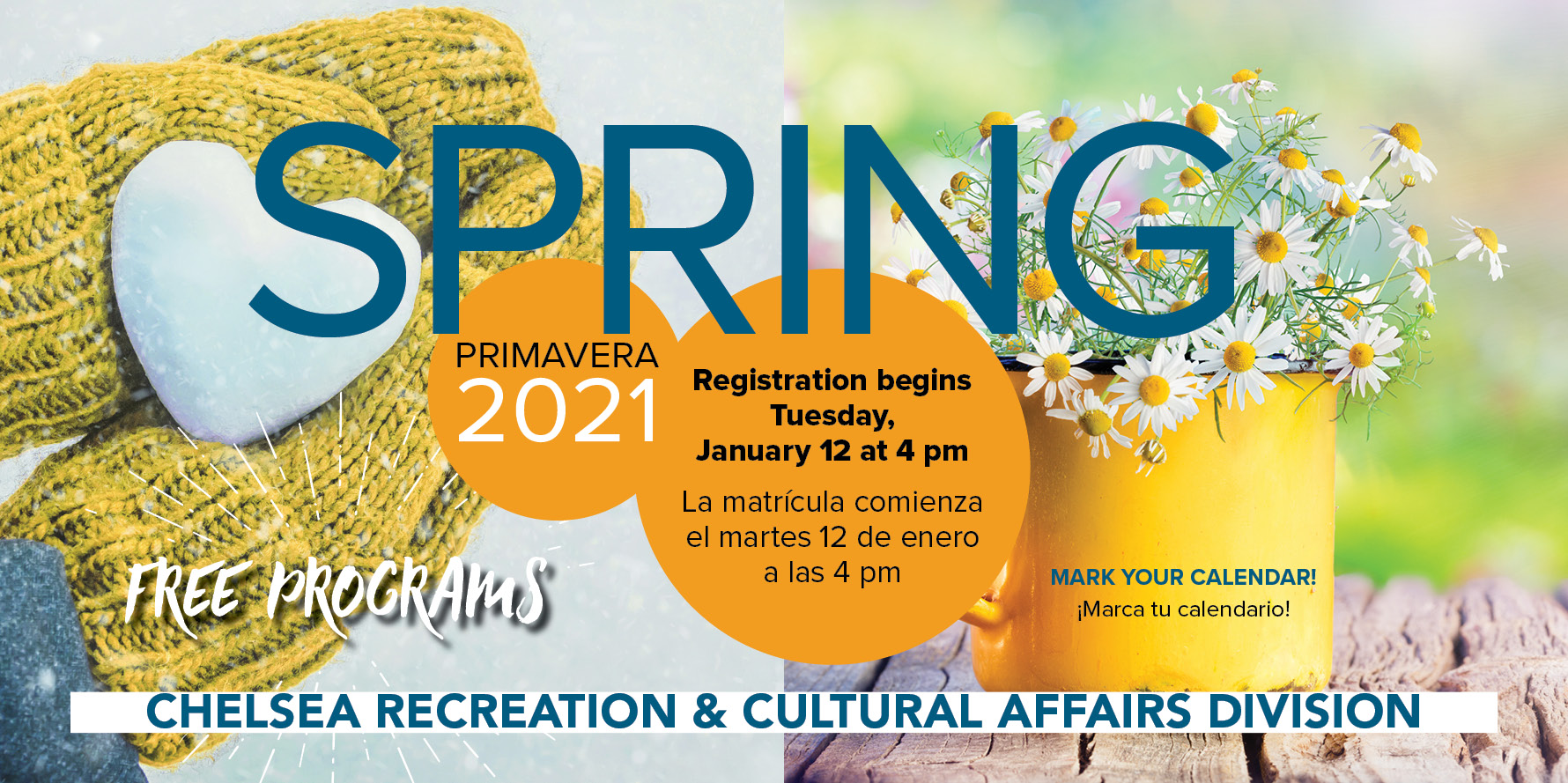 Spring Program is now available for registration!